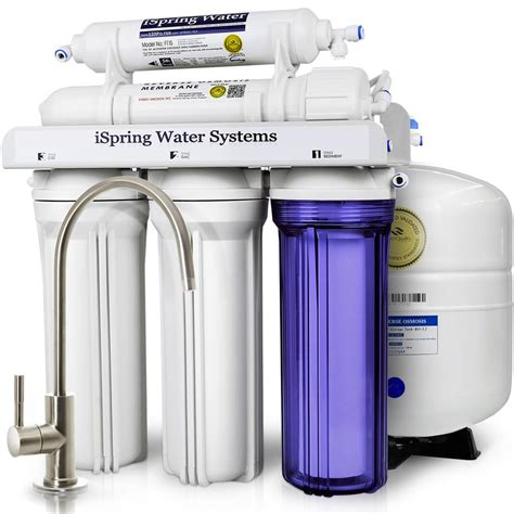 under sink filtration system ispring wqa gold seal 5 stage with superior quality filter