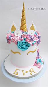 Unicorn cake - cake by Time for Tiffin - CakesDecor