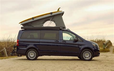 It's what you've come to expect from us. Mercedes-Benz Weekender Camper Van | GearMoose
