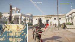 AC Origins Treasure of Akhenaten Location & Puzzle Solution