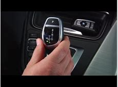 Electronic Gear Shift Sport Mode BMW Genius HowTo YouTube