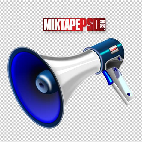 Free Vector Megaphone Template - MIXTAPEPSD.COM