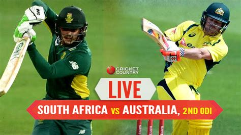 Aus 219 All Out, Live Cricket Score, South Africa Vs