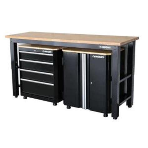 Husky 42 in. H x 72 in. W x 24 in. D Steel Garage Cabinet