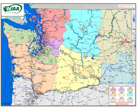 washington state map freetemplate