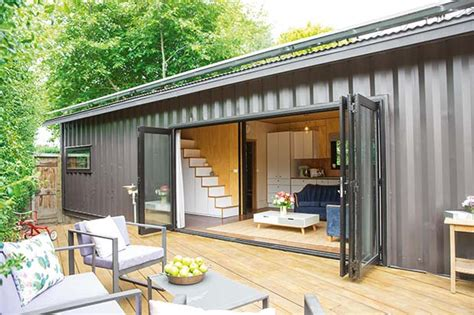 style house plans thinking outside the box in a 60sqm container house in