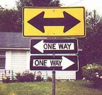 Which Way Should We Go?  Pictures And Images