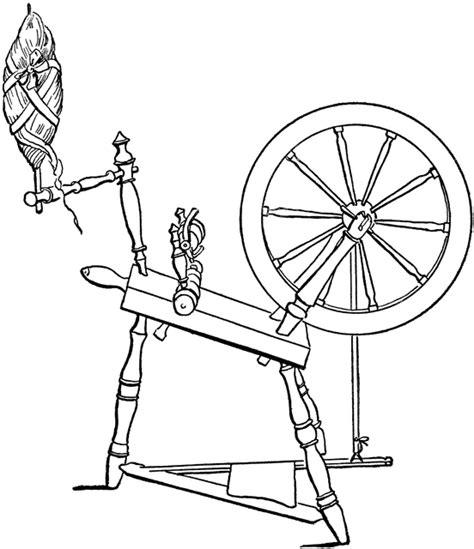 diagram   spinning wheel clipart