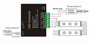 Led Strip Panel Wiring Diagram : 12v 24v 4a 4ch rgbw music controller with rf 24 key remote ~ A.2002-acura-tl-radio.info Haus und Dekorationen