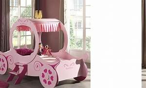 Lit Superposé Princesse : lit carrosse cendrillon maison design ~ Teatrodelosmanantiales.com Idées de Décoration