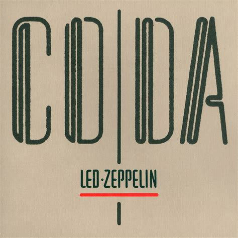 Many songs in rock and other genres of popular music have sections identifiable as codas. juicyjaila: Led Zeppelin - Coda (Classic Album UK 1982)