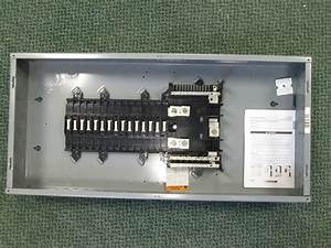 Square D Main Lug Breaker Panel Qo130l200g 200a Main Lug