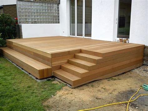 Terrasse Bauen Ein Deck Auf Stelzen by Terrasse Auf Stelzen
