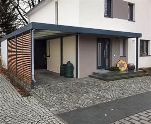 Holz Vordach Hauseingang : carport mit eingangs berdachung vordach f r haust ren carport einhausungen ~ Watch28wear.com Haus und Dekorationen
