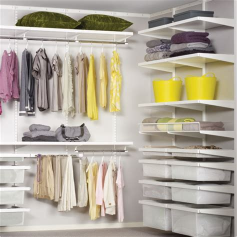 elfa storage wardrobes  walk  robes  wardrobe man