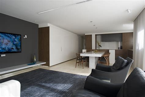 wohnzimmer contemporary family room dusseldorf by small space solutions kitchen from minosa design