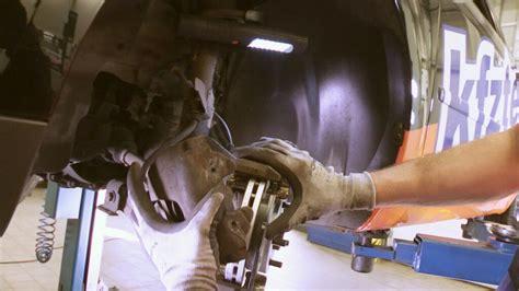 bremsbelag bremsscheibe selber nach anleitung wechseln