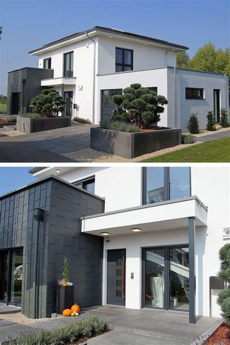 Moderne Häuser Bauen Lassen by Einfamilienhaus Modern Mit Garage B 252 Ro Anbau Walmdach