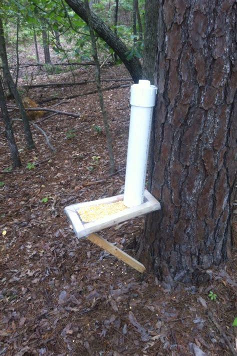 diy deer feeder myog easy diy deer corn feeder plans for