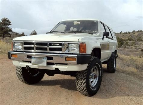 1985 Toyota 4runner For Sale by Impossibly Clean 1985 Toyota 4runner Sr5 Bring A Trailer