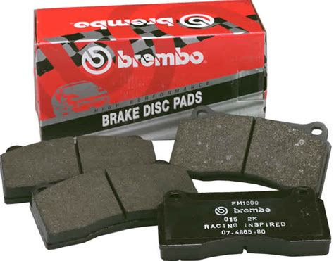 When Used With Brembo Max Or Sport Brake Discs These High
