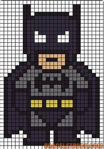 Batman | Perler Beads | Pinterest | Pärlor, Pärlmönster ...