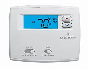 Wiring Diagram Emerson Digital Thermostat