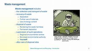 Introduction, Waste, Management, And, Recycling, Introduction
