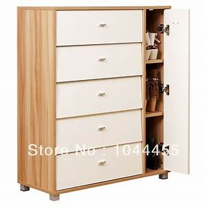 2014 new wooden shoe rack living room furniture storage for Living room storage cabinets with doors