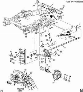 2008 Chevrolet 4wd Suspension Diagram