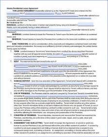 Free Printable Residential Lease Agreement Form