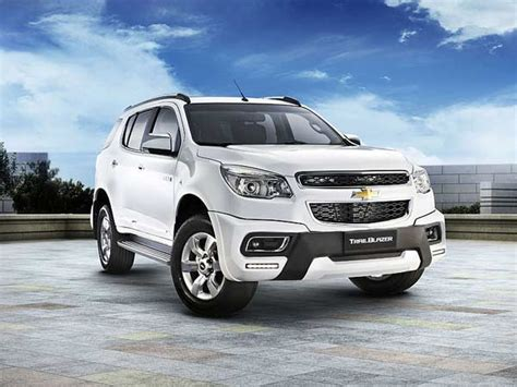 India Bound 2015 Chevrolet Trailblazer Launched In