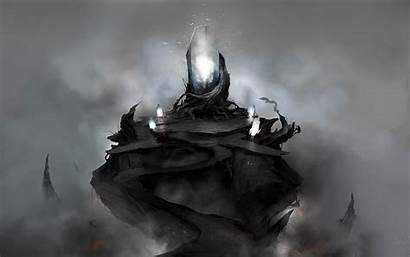 Dark Wallpapers Monolith Landscape Desktop Fantasy Background