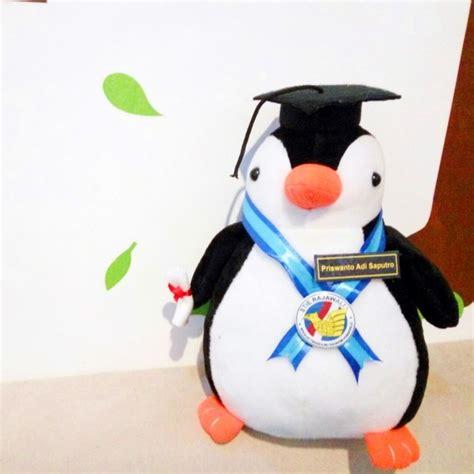jual boneka wisuda pinguin murah kado wisudaku