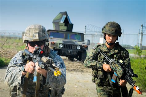 51st Sfs, Rok Army Fend Off Opposing