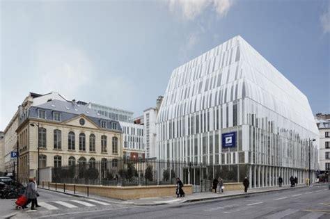 siege banque populaire siège de la banque postale atelier d 39 architecture