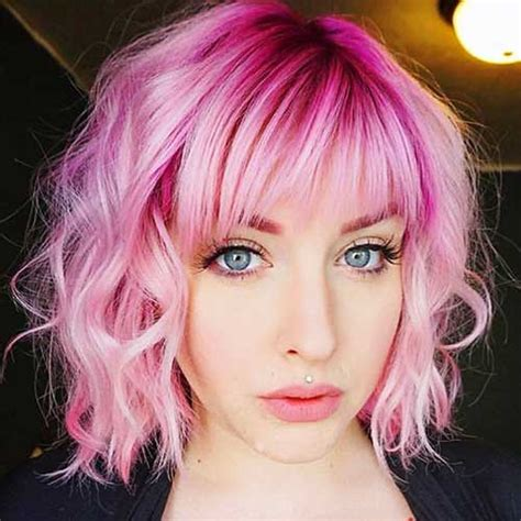 Really Lovely 20 Short Pink Hair Ideas Short Hair Color