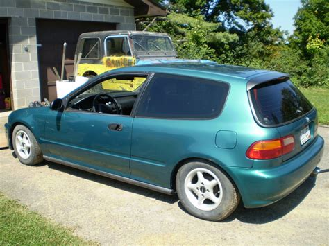 Honda Civic Hatchback Modification by M4st3r X 1995 Honda Civicdx Hatchback 2d Specs Photos