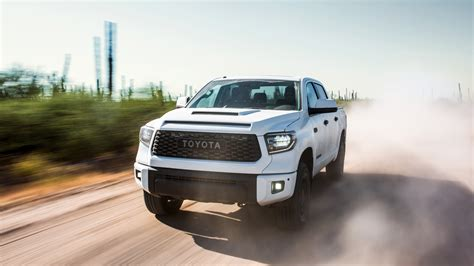 2019 Toyota Tundra Trd Pro Crewmax 4k Wallpaper  Hd Car