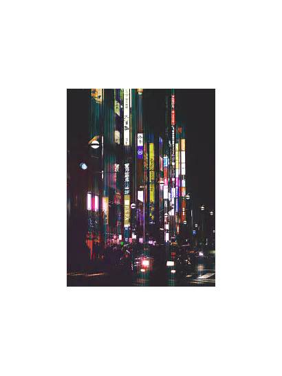Tokyo Night Fubiz Japan Dark Photographs Landscape