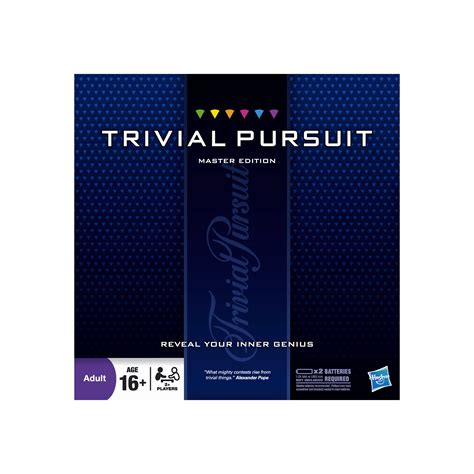 new hasbro trivial pursuit master edition quiz family baord ebay
