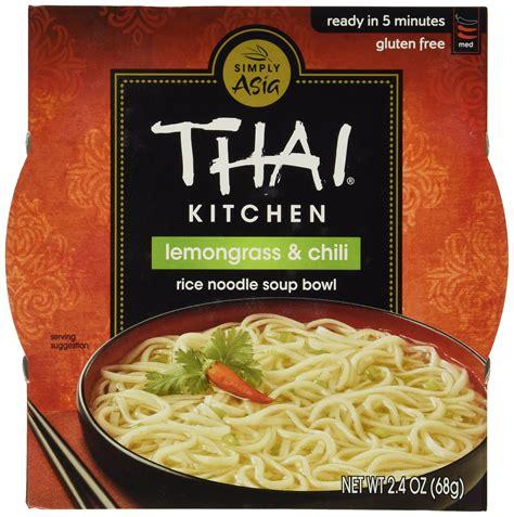 thai kitchen of thai kitchen sour rice noodle soup bowl