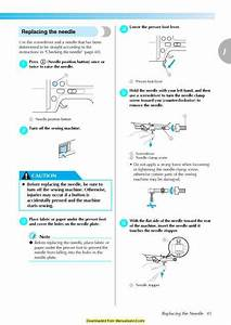 Brother Se400 Sewing Machine Instruction Manual