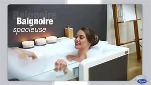 Duo Kinedo Baignoire Douche : kinedo duo douche et baignoire youtube ~ Premium-room.com Idées de Décoration