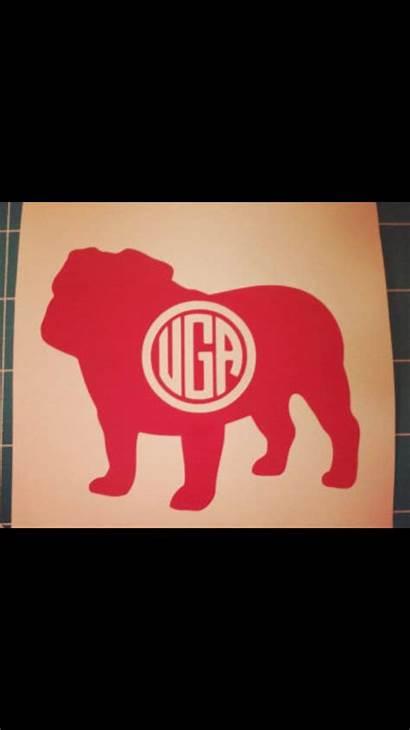 Georgia Bulldogs Silhouette Shirt Vinyl Cameo Projects