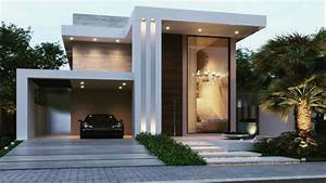 Beautiful, Modern, House, Front, Elevation, Design