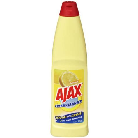 Ajax Bathroom Cleaner Msds by Ajax Cleanser 12x375ml Hannafords Cleaning Supplies