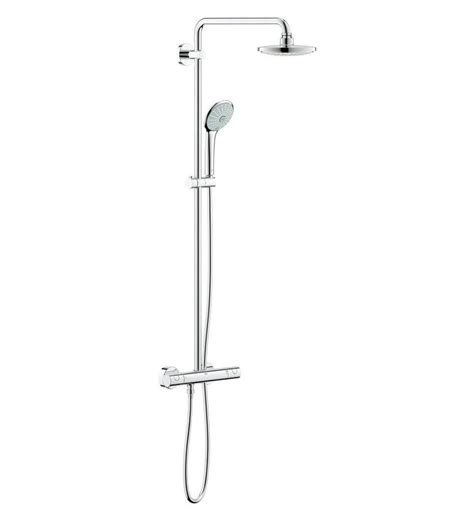 grohe euphoria  thermostatic bar mixer shower system