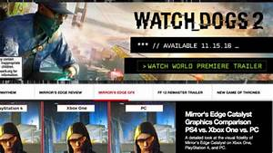 watch dogs 2 release date pre order system requirements