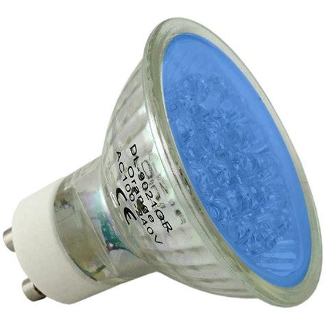 blue gu10 led light bulb 240 volt 30 000 hour